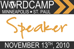 2010 WordCamp Minneapolis and St. Paul Speaker